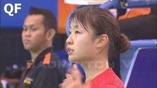 【동영상】오쿠하라 노조미 VS 리치아신 E 플러스 배드민턴 아시아 팀 챔피언십 2018 그렇지