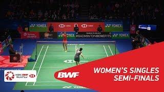 【동영상】P.V. 신두 VS 야마구치 아카네 YONEX 전 잉글랜드 오픈 2018 준결승