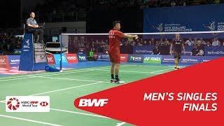 【동영상】린 단 VS 조나단 크리스티 BARFOOT & THOMPSON 뉴질랜드 오픈 2018 결승