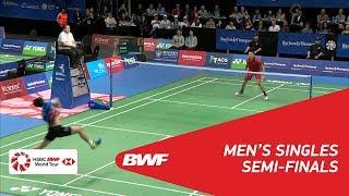 【동영상】린 단 VS HEO Kwang Hee BARFOOT & THOMPSON 뉴질랜드 오픈 2018 준결승