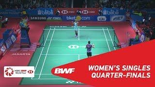 【동영상】성지현 VS 라챠녹 인타논 BLIBLI 인도네시아 오픈 2018 준준결승