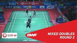 【동영상】장 난・리인후이 VS 리춘헤이・차우 호이 와 BLIBLI 인도네시아 오픈 2018 베스트 16