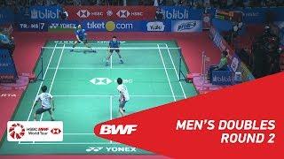 【동영상】랴오민춘・SU Ching Heng VS 엔도 히로유키・유타 와타나베 BLIBLI 인도네시아 오픈 2018 베스트 16