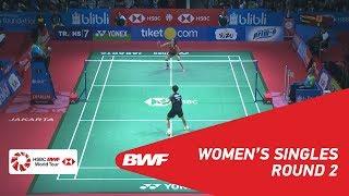 【동영상】사이나 네흐왈 VS 첸 유페이 BLIBLI 인도네시아 오픈 2018 베스트 16