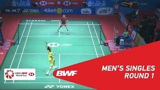 【동영상】응카롱 VS 리총웨이 BLIBLI 인도네시아 오픈 2018 베스트 32