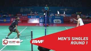 【동영상】켄토 모모타 VS 스리칸스 키담비 BLIBLI 인도네시아 오픈 2018 베스트 32