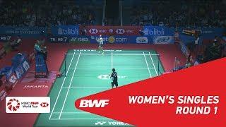 【동영상】타이추잉 VS 카와카미 사에나 BLIBLI 인도네시아 오픈 2018 베스트 32