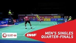 【동영상】토미 스기아토 VS Kantaphon WANGCHAROEN 도요타 태국 오픈 2018 준준결승