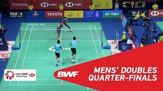 【동영상】타케시 카무라・케이고 소노다 VS 랴오민춘・SU Ching Heng 도요타 태국 오픈 2018 준준결승
