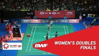 【동영상】Ayako SAKURAMOTO・유키코 타카하타 VS 나미 마츠야마・치하루 시다 2018 년 싱가포르 오픈 결승