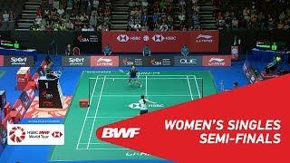【동영상】HAN Yue VS 사야카 타카하시 2018 년 싱가포르 오픈 준결승