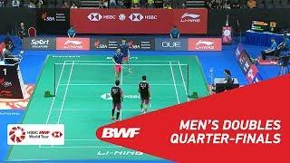 【동영상】HAN Chengkai・ZHOU Haodong VS PO Li-Wei・YANG Ming-Tse 2018 년 싱가포르 오픈 준준결승