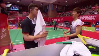 【동영상】김기정・LEE Yong Dae VS 보딘 이사라・Maneepong JONGJIT 2018 년 스페인어 오픈 결승
