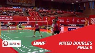 【동영상】Niclas NOHR・Sara THYGESEN VS 마커스 엘리스・로렌 스미스 2018 년 스페인어 오픈 결승