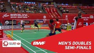 【동영상】김기정・LEE Yong Dae VS CHEN Tang Jie・Wei Chong MAN 2018 년 스페인어 오픈 준결승