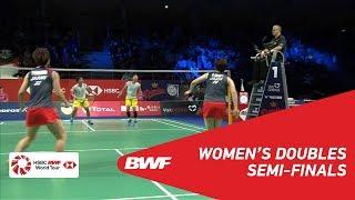 【동영상】유키 후쿠시마・사야카 히로타 VS 그레이시아 폴리・Apriyani RAHAYU DANISA 덴마크 오픈 2018 준결승