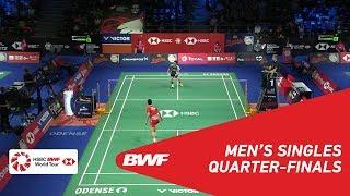 【동영상】초우티엔첸 VS 손완호 DANISA 덴마크 오픈 2018 준준결승