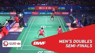 【동영상】HAN Chengkai・ZHOU Haodong VS 리제훼이・리 양 YONEX 프랑스 오픈 2018 준결승