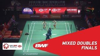 【동영상】정 시웨이・후앙 야치옹 VS 왕일유・HUANG Dongping 푸 저우 중국 오픈 2018 결승