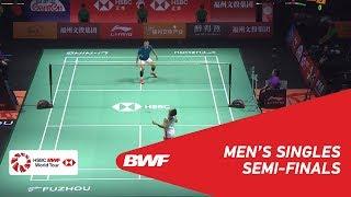 【동영상】켄토 모모타 VS 천룽 푸 저우 중국 오픈 2018 준결승
