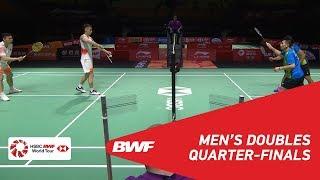 【동영상】리우 쳉・장 난 VS 랴오민춘・SU Ching Heng 푸 저우 중국 오픈 2018 준준결승