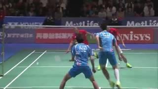 【동영상】리 준휘・리우 유첸 VS 모하마드 아산・헨드라 세티아완 요넥스 오픈 일본 준결승
