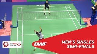 【동영상】켄타 니시모토 VS 리 척 유 YONEX-SUNRISE 홍콩 오픈 2018 준결승