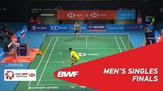 【동영상】리총웨이 VS 켄토 모모타 CELCOM AXIATA 말레이시아 오픈 2018 결승