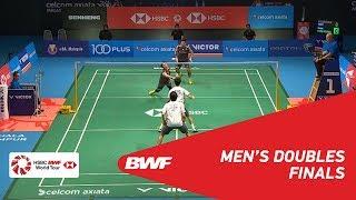【동영상】타케시 카무라・케이고 소노다 VS 엔도 히로유키・유타 와타나베 CELCOM AXIATA 말레이시아 오픈 2018 결승