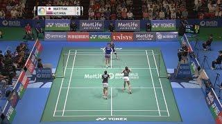 【동영상】마츠모토 미사키・다카하시 아야카 VS Jongkolphan KITITHARAKUL・Rawinda PRAJONGJAI 요넥스 오픈 일본 준준결승