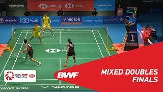 【동영상】정 시웨이・후앙 야치옹 VS 왕일유・HUANG Dongping CELCOM AXIATA 말레이시아 오픈 2018 결승