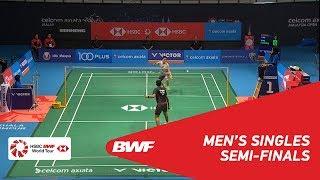 【동영상】스리칸스 키담비 VS 켄토 모모타 CELCOM AXIATA 말레이시아 오픈 2018 준결승