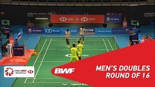 【동영상】타케시 카무라・케이고 소노다 VS 모하마드 아산・헨드라 세티아완 CELCOM AXIATA 말레이시아 오픈 2018 베스트 16