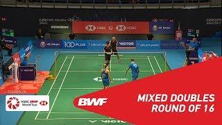 【동영상】크리스 애드콕・가브리엘 애드콕 VS 장 난・리인후이 CELCOM AXIATA 말레이시아 오픈 2018 베스트 16