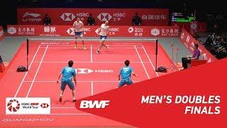 【동영상】리 준휘・리우 유첸 VS 엔도 히로유키・유타 와타나베 HSBC 결승 2018 그렇지