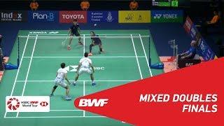 【동영상】찬펭순・GOH Liu Ying VS 푸아바라눅로 데차폴・삽시리 타에라타나차이 프린스 SIRIVANNAVARI 태국 마스터스 2019 결승