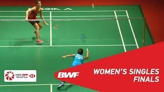 【동영상】라챠녹 인타논 VS 카롤리나 마린 PERODUA 말레이시아 마스터스 2019 결승