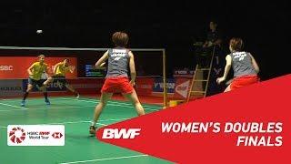 【동영상】유키 후쿠시마・사야카 히로타 VS 그레이시아 폴리・Apriyani RAHAYU PERODUA 말레이시아 마스터스 2019 결승