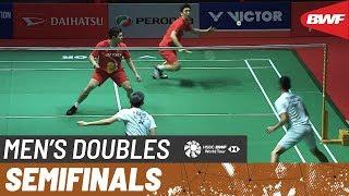 【동영상】김기정・LEE Yong Dae VS 파자르 알피안・무하마드 리안 아르디안토 PERODUA 말레이시아 마스터스 2020 준결승