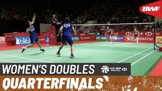 【동영상】그레이시아 폴리・Apriyani RAHAYU VS 나미 마츠야마・치하루 시다 다이하츠 인도네시아 마스터스 2020 준준결승