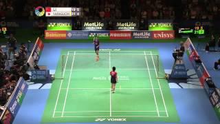 【동영상】리 슈에리 VS 야마구치 아카네 요넥스 오픈 일본 준준결승