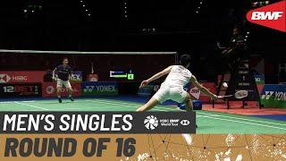 【동영상】초우티엔첸 VS 츠네야마 칸타 요넥스 올 잉글랜드 오픈 2020 베스트 16