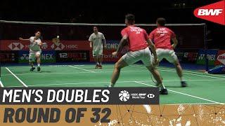 【동영상】엔도 히로유키・유타 와타나베 VS 벤 레인・Sean VENDY 요넥스 올 잉글랜드 오픈 2020 베스트 32