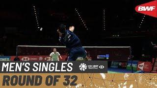 【동영상】응카롱 VS 켄타 니시모토 요넥스 올 잉글랜드 오픈 2020 베스트 32