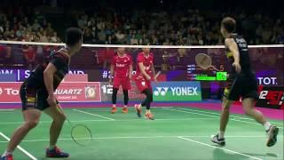 【동영상】리우 쳉・장 난 VS 모하마드 아산・리안 아궁 사푸트로 총 BWF 세계 선수권 대회 2017 결승