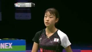 【동영상】P.V. 신두 VS 오쿠하라 노조미 총 BWF 세계 선수권 대회 2017 결승