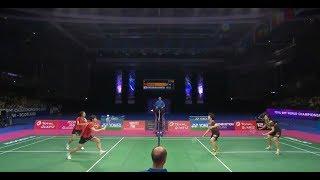 【동영상】첸 친첸・지아 이판 VS 유키 후쿠시마・사야카 히로타 총 BWF 세계 선수권 대회 2017 그렇지