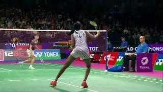 【동영상】P.V. 신두 VS 첸 유페이 총 BWF 세계 선수권 대회 2017 준결승