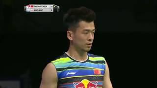 【동영상】정 시웨이・첸 친첸 VS 크리스 애드콕・가브리엘 애드콕 총 BWF 세계 선수권 대회 2017 준결승