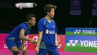 【동영상】톤토위 아마드・릴리야나 낫시르 VS 리춘헤이・차우 호이 와 총 BWF 세계 선수권 대회 2017 준결승
